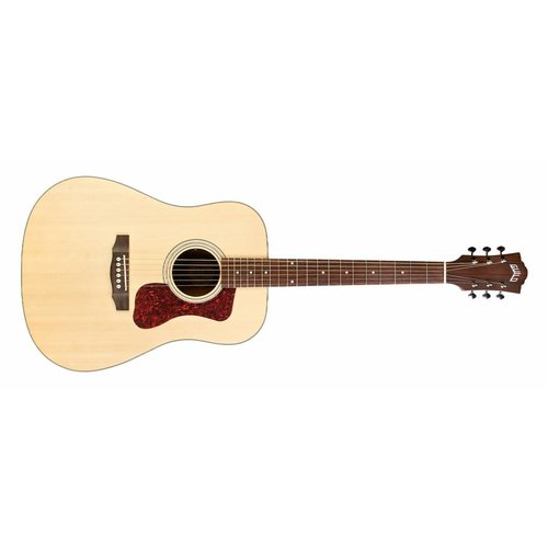 Guild D-240E Natural, Westerly Collection Archback Series  w/Bag