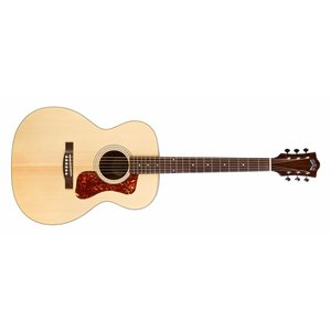 Guild OM-240E Natural, Westerly Collection Archback Series, Orchestra style Acoustic/Electric guitar w/Bag