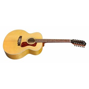 Guild F-2512E, Westerly Collection Archback Series 12 string Jumbo Acoustic, Maple Blonde w/Bag