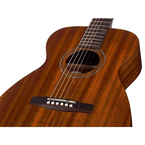 Guild M-120E Natural, Westerly 120 Series All Solid Mahogany Concert Acoustic  w/Case and Pickup