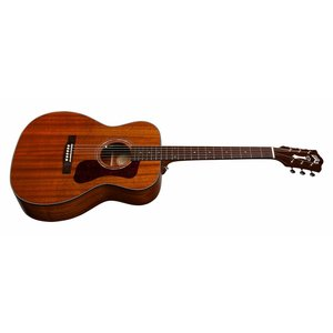 Guild OM-120 Natural, Westerly 120 Series All Solid Mahogany Orchestra Style Acoustic  w/Case