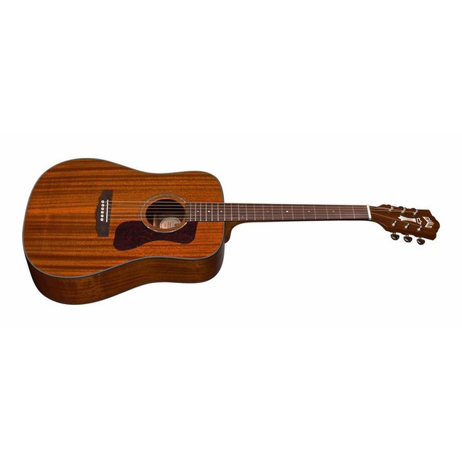 Guild D-120 Natural, Westerly 120 Series All Solid Acoustic w/Case