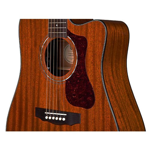 Guild D-120CE Natural, Westerly 120 Series All Solid Acoustic Cutaway Electric,  w/Case