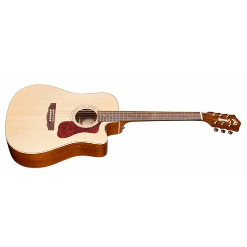 Guild D-140CE Natural, Westerly 140 Series All Solid Cutaway Acoustic/Electric w/Case