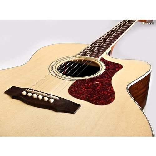 Guild F-150CE, Westerly 150 Series All Solid Jumbo Acoustic/Electric w/ Cutaway & Case