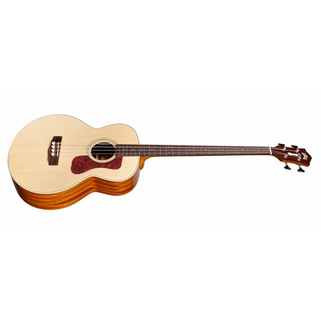 Guild B-140E, Westerly 140 Series All Solid Acoustic Acoustic/Electric Bass w/Case