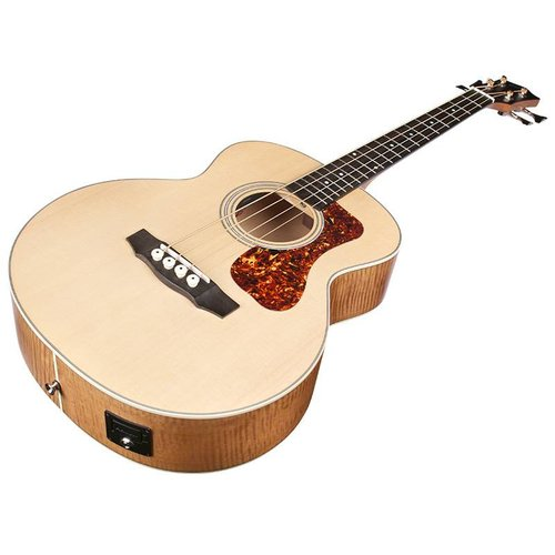 Guild Jumbo Junior, Westerly Acoustic Bass Series,  Acoustic/Electric Bass w/Case