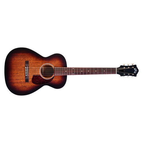 Guild M-20 Vintage Sunburst, USA Series, All Solid Mahogany Concert style Acoustic,  w/Case