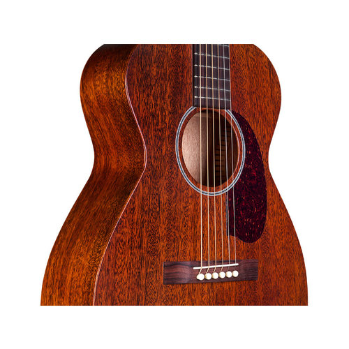 Guild M-20E Natural, USA Series, All Solid Mahogany Concert Style Acoutstic, LR Baggs Element & VTC, w/Case
