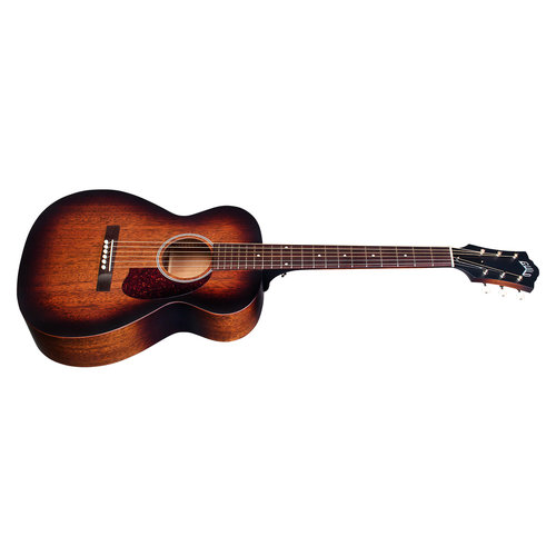 Guild M-20E Vintage Sunburst, USA Series, All Solid Mahogany Concert Style Acoustic, LR Baggs Element & VTC, w/Case