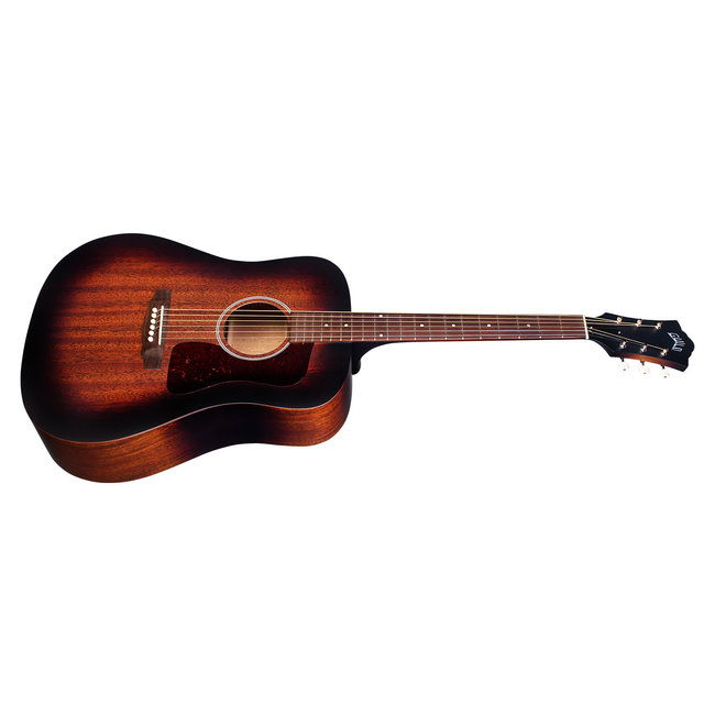 Guild D-20E Vintage Sunburst, USA Series, All Solid Mahogany, LR Baggs Element & VTC, w/Case