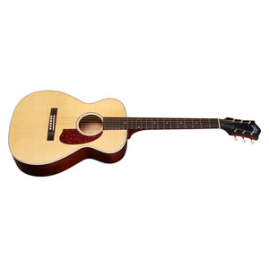 Guild M-40E Troubadour Natural, USA Series, Concert Style Acoutstic, All Solid Mahogany B&S/Sitka Spruce Top, LR Baggs Element & VTC, w/Case