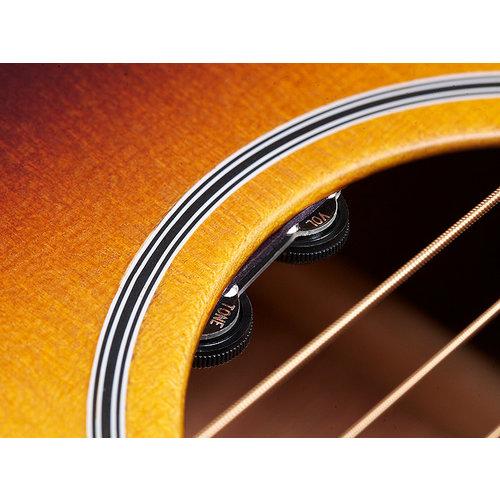 Guild M-40E Troubadour Antique Sunburst, USA Series, Concert Style Acoutstic, All Solid Mahogany B&S/Sitka Spruce Top, LR Baggs Element & VTC, w/Case