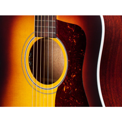 Guild D-40E  Antique Sunburst, USA Series, All Solid Mahogany B&S/Sitka Spruce Top, LR Baggs Element & VTC, w/Case