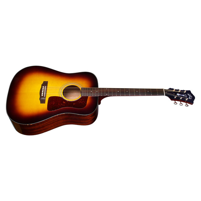 Guild D-40 Traditional, Antique Sunburst, USA Series, All Solid Mahogany B&S/Sitka Spruce Top,  w/Case