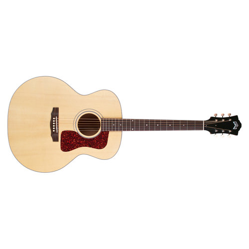 Guild F-40E Natural, USA Series, All Solid Mahogany B&S/Sitka Spruce Top, LR Baggs Element & VTC, w/Case