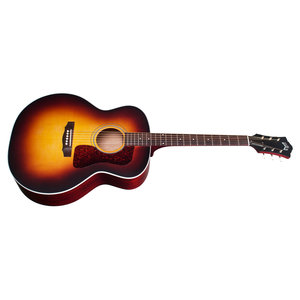 Guild F-40E Antique Sunburst, USA Series, All Solid Mahogany B&S/Sitka Spruce Top, LR Baggs Element & VTC, w/Case
