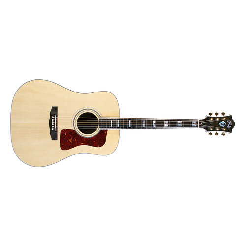 Guild D-55 Natural, USA Series, All Solid Rosewood B&S/Sitka Spruce Top,  w/Case