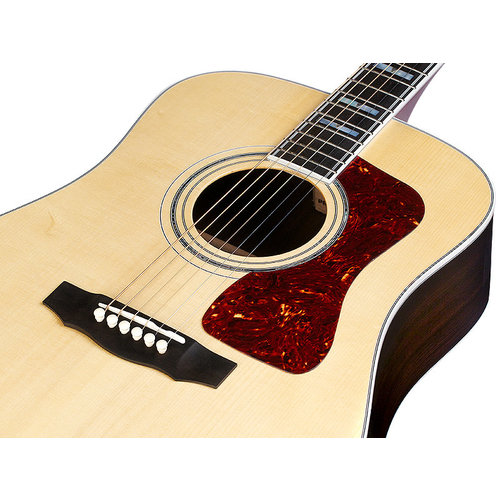 Guild D-55E Natural, USA Series, All Solid Rosewood B&S/Sitka Spruce Top, LR Baggs Element & VTC, w/Case