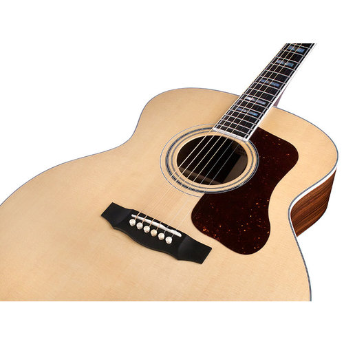 Guild F-55 Natural, USA Series, All Solid Rosewood B&S/Sitka Spruce Top,  w/Case