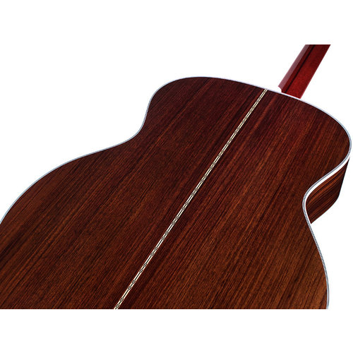 Guild F-55E Natural, USA Series, All Solid Rosewood B&S/Sitka Spruce Top,  LR Baggs Element & VTC, w/Case