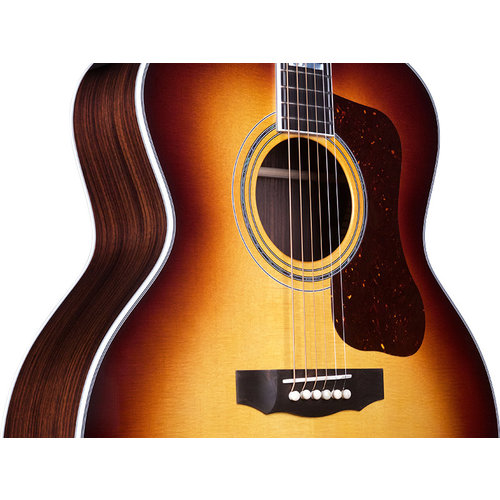 Guild F-55E Antique Sunburst, USA Series, All Solid Rosewood B&S/Sitka Spruce Top,  LR Baggs Element & VTC, w/Case