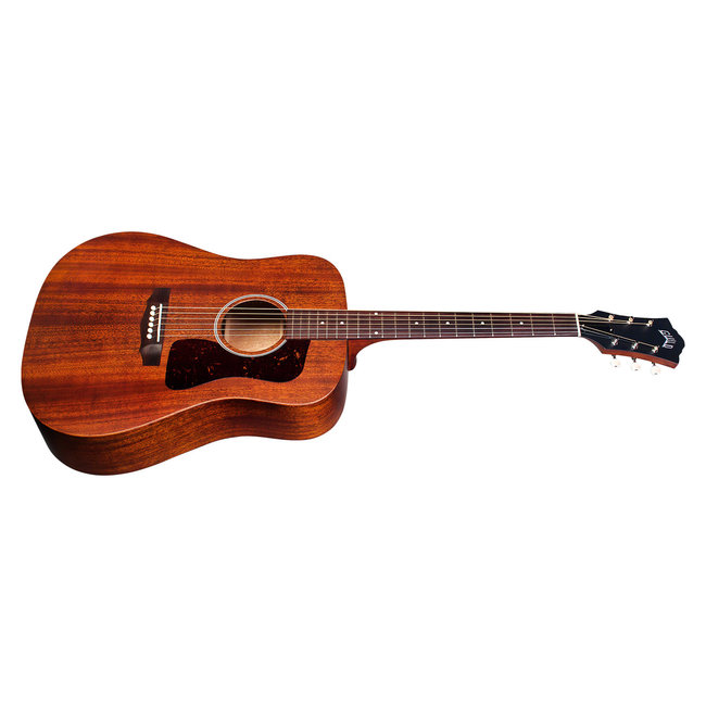 Guild D-20 Natural, USA Series, All Solid Mahogany,  w/Case