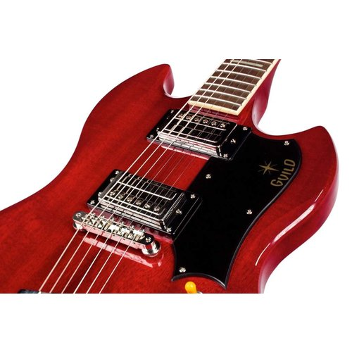 Guild S-100 Polara Cherry Red, w/Deluxe Gig Bag
