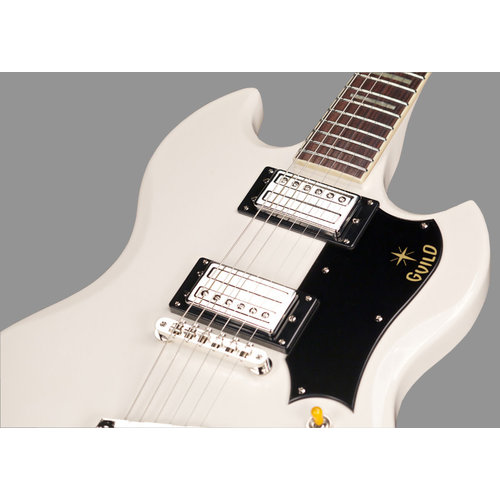 Guild S-100 Polara White, w/Deluxe Gig Bag