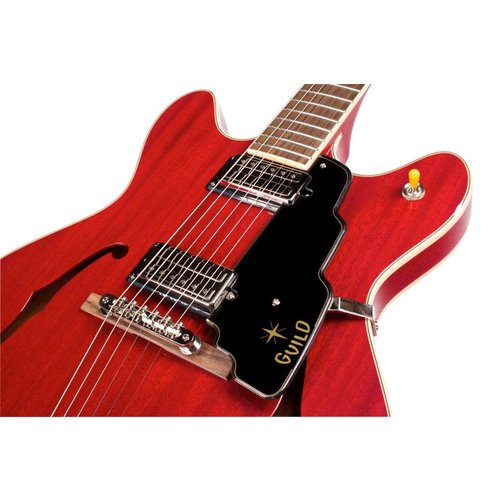 Guild Starfire IV Cherry Red Semi-Hollow Body w/Case