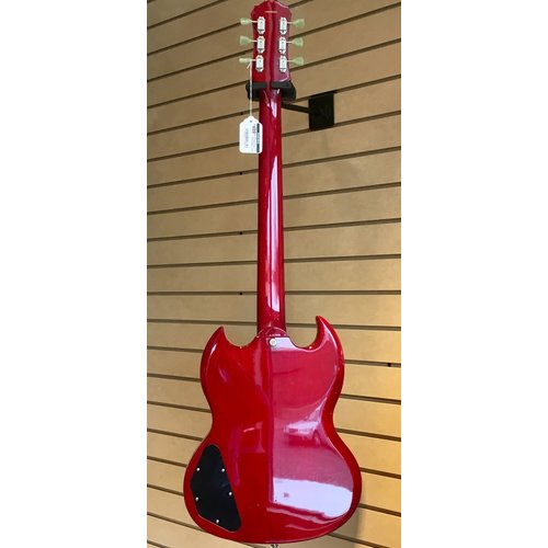 Epiphone USED SG G-400 Pro Electric Guitar - Cherry