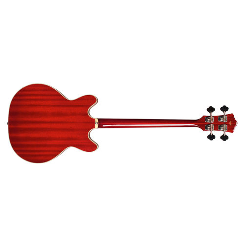 Guild Starfire Bass Cherry Red, Semi-Hollow w/Case