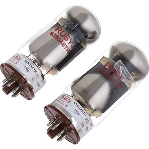 Ruby 6550ASTR-2 Tubes, Matched Pair