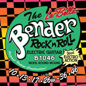 La Bella B1046 Bender, Regular Guage Electric Guitar Strings