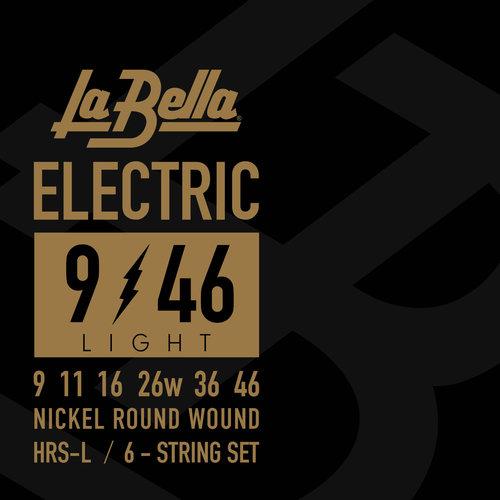 La Bella HRS-L, Light Guage Electric Guitar Strings