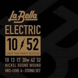 La Bella HRS-LTHB, Lite Top/Heavy Bottom Guage Electric Guitar Strings