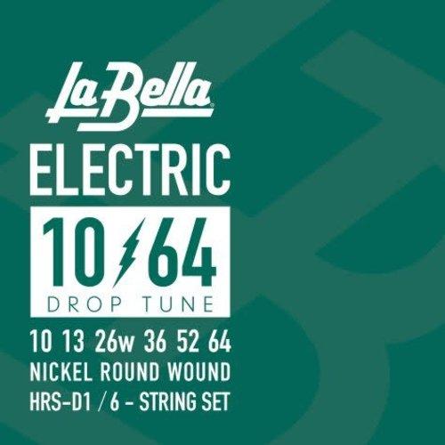 La Bella HRS-D1, Drop Tune Guage Electric Guitar Strings