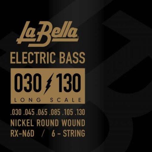 La Bella RX-N6D RX Series, 30-130 Long Scale Bass Strings