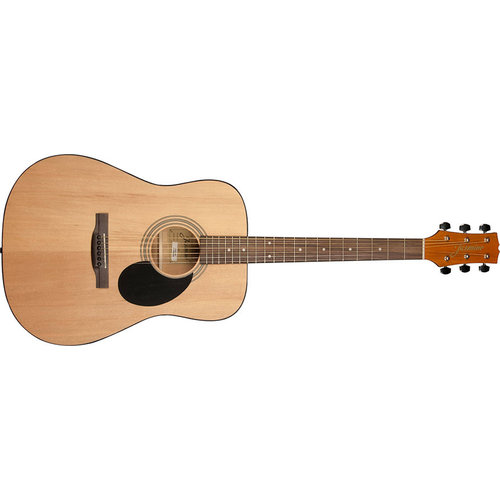 Jasmine Jasmine S35 Dreadnought Acoustic Guitar, Natural
