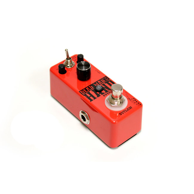 Outlaw Effects DEAD MAN'S HAND  2-Mode Overdrive Pedal