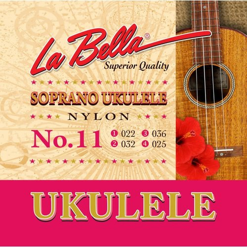 La Bella La Bella Soprano Ukulele No.11
