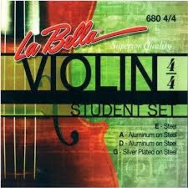 La Bella La Bella 680 4/4 Violin Student Set
