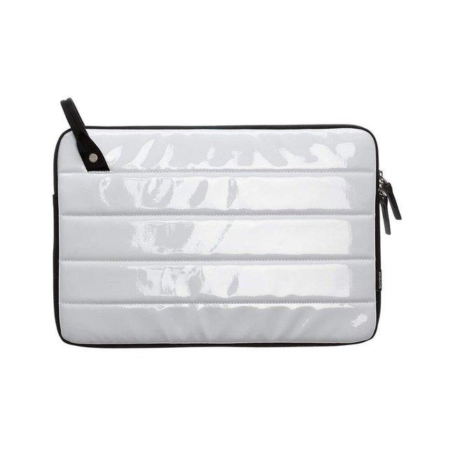 Mono CVL-LLT-13-WHT 13 Inch Loop Laptop Sleeve in Gloss White