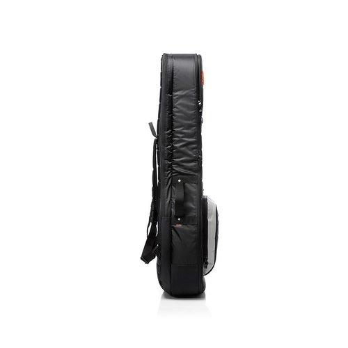 Mono M80-2A-BLK Dual Guitar Case -1 Acoustic -1 Electric -Jet Black