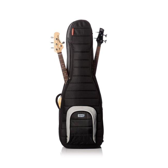Mono M80-2B-BLK Dual Electric Bass Case in Jet Black