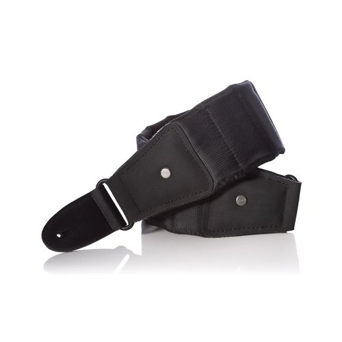 Mono M80-BTY-BLK-L Long Betty Guitar Strap in Black -Length: 47-59 Inches