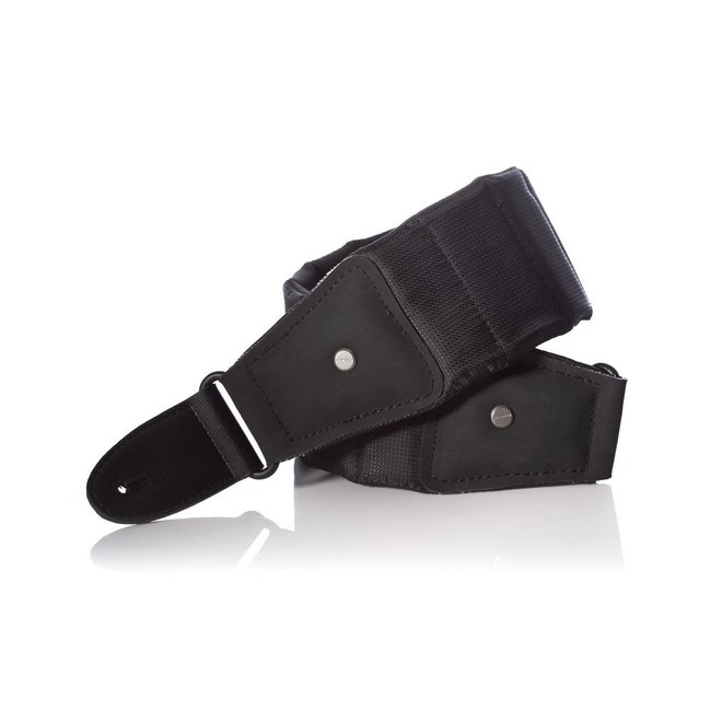 Mono M80-BTY-BLK-S Short Betty Guitar Strap in Black -Length: 40-46 Inches