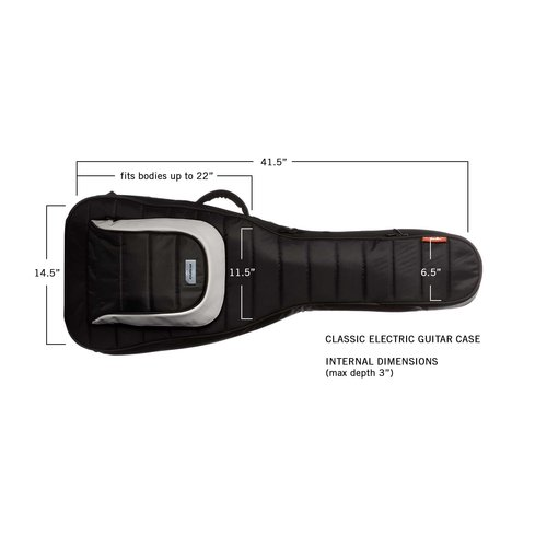 Mono M80-EG-BLK Electric Guitar Case in Jet Black