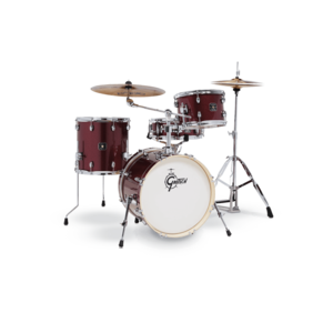 Gretsch Drums Gretsch GE4S484-RS Energy 4 Pc Drum Street Kit w/ Hardware - Ruby Red Sparkle