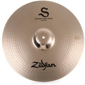 ZILDJIAN Zildjian 18' S Series Medium Thin Crash